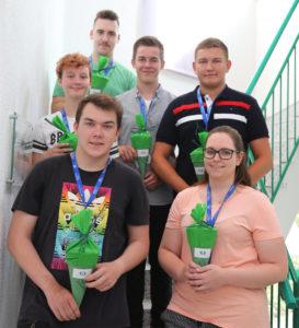 Seit dem 01.08.2018 bei Griebsch & Rochol an Bord: Daniel Nickel, Christina Scheiwe, Phil Lehmköster, Lea Hampel, Leon Averkamp und Sascha Neumann.